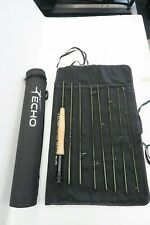 Echo Trip Trout 690-8 9' #6 Line Flyrod With Case New