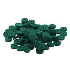 More details for 90pcs lightweight piano washers keyboard tuning felt ring pad tool green uk