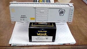 WEAVER - PENNSYLVANIA - PRR #498021 - GRAY PS-1 40' BOXCAR - *BODY* - CLOSEOUTS