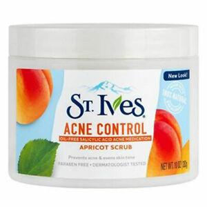 NEW St. Ives Apricot Scrub Acne Control 10 Oz