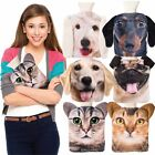 PET HOTTY HOT WATER BOTTLE - With Dog or Cat Warm Soft Touch Cover 1.0L **NEW**