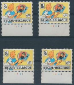 Belgium**TINTIN in Congo-PLATE Numbers 1 to 4-RARE-2001-FORD Model T-Car-Giraffe