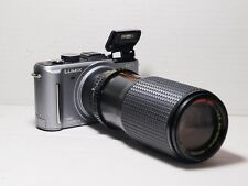 80-200mm= lens 160-400mm on Panasonic G lumix HD 4K Micro 4/3 Digital SLR GH2 G6