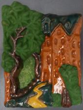 Mercer Moravian Pottery Tile Fonthill Castle Tree 1987