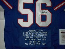 LAWRENCE TAYLOR- Signed XL Jersey (NEW YORK GIANTS) JSA Certified #W525318- NEW