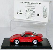 Porsche Museum Exclusive Model 911 Turbo 3.6 Coupe Flachbau Mj 1994 Us Version