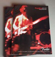 Fender Guitars Amps Frontline 2010 Sales Catalog 190 Pages Retail Price List