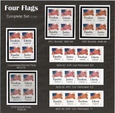 4629-4632 to 4706-09 Four Flags  ALL SEVEN VARIETIES   Mint F/VF NH Pg-32
