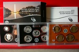 2015-S SILVER 14 Coin Proof Set ORIGINAL!!!