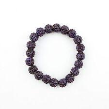 New Women Jewelry Bracelet 10mm Crystal 20pcs Disco Clay Balls Beads -18 Colors