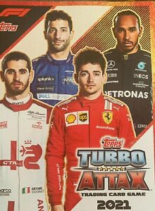 TOPPS TURBO ATTAX F1 FORMULA 1 2021 PICK YOUR BASE CARD FROM LIST NUMBERS 1-203