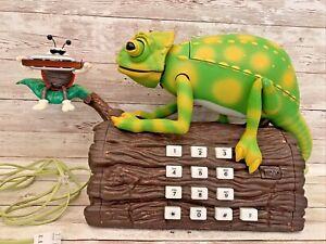 Vintage Karma Chameleon Animated Telephone Home Phone BT (Read Description)