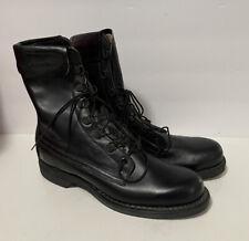 Vintage Addison Us Navy Military Issue Boots Steel Toe Biker Nos Unworn 6 1/2 A