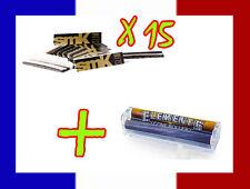15 carnets de longue feuille à rouler SMOKING SMK + Rouleuse cigarette Elements