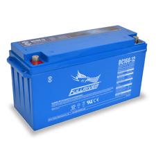 BAFRDC160-12 Fullriver Full Force AGM Deep Cycle Batteries 160AH/12V Quantity 1
