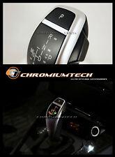 BMW e39 5-Series e53 x5 Argento LED Cambio Pomello Del Cambio Per Rhd con luce di posizione del cambio