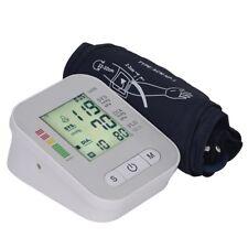 Tensiometro de Brazo LCD Digital Medidor Presión Arterial Deteccion de Arritmias