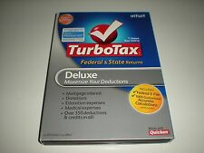 20-lot Turbotax 2009 Deluxe with state. Turbo tax. New. Genuine.