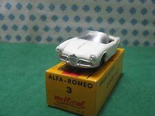 Vintage  -  ALFA ROMEO Giulietta Spyder    - 1/43 Metosul n°3