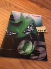 Kawasaki reihe 2005 quad moto prospekt katalog katalog werbung prospekt katalog