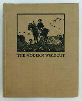 The Modern Woodcut Hardcover Book by Herbert Furst (1924)