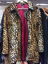 Rockabilly Leopard Print Rock Steady Coat Small New With Tags
