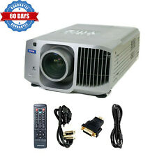 Epson 8300i LCD Projector 5200 Lumens HD 1080i HDMI-Adapter Accessories Included