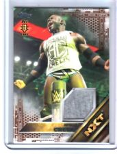 WWE Apollo Crews 2016 Topps Event Used Shirt BRONZE Relic Card SN 21 of 50