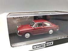 VW 1600 L, dunkelrot, 1970  - 1:43 Whitebox  *NEW*