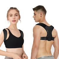 For Men Women Adjustable Posture Corrector Shoulder Back Correct Brace Support
