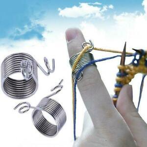 Steel Straight Circular Knitting Needles Tools New Weave Crochet N0S8
