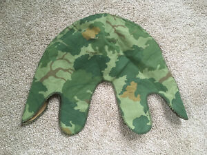 US Army Mitchell Camo M1 Helmet Cover 1974 Unissued