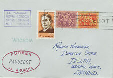 Portugal 4411 - Used in PERTH, W AUSTRALIA 1968  PAQUEBOT cover to UK