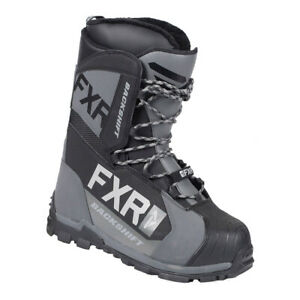 FXR Backshift Speed Boot Removable Fur Lining Anti-Slip Lace Snowmobile Snocross