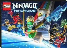 Lego Ninjago Nindroids Giant CANVAS ART PRINT - A0 A1 A2 A3 A4 Sizes