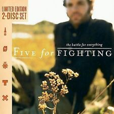 The Battle for Everything [Limited] by Five for Fighting (2 CD SET) BRAND NEW!