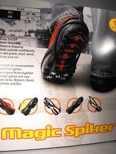 Glace pinces de préhension / neige, Spike Enfiler semelles snow ice antidérapante pointes