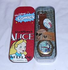 DISNEY SNOW WHITE EVIL QUEEN  WATCH NEW  IN BOX DISNEY NO 56562 METAL BOX