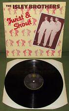THE ISLEY BROTHERS Twistin & Shout Orig UK DJM 1976  Twist & Shout etc