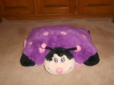 "MY PILLOW PETS PURPLE & PINK LADYBUG, 17"", 2009 LIMITED EDITION"