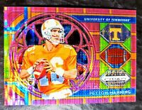 2019 PEYTON MANNING 💥STAINED GLASS💥 (PINK) Panini PRIZM #74 INDIANAPOLIS COLTS