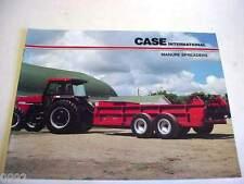 Case IH Manure Spreaders Brochure                             b4
