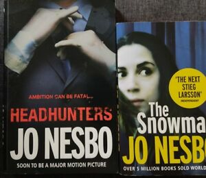 THE SNOWMAN & HEADHUNTERS by Jo Nesbo | Paperback | antiquariat