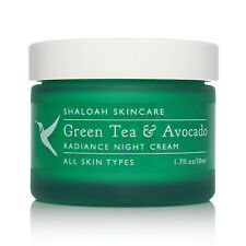 5* Natural Organic Moisturiser Night Cream with Green Tea and Avocado