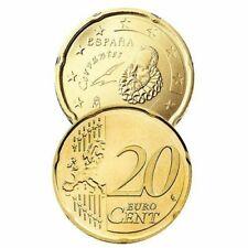 Pièces euro d'Espagne 20 Cent