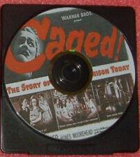 FILM NOIR 068: CAGED (1950), John Cromwell, Eleanor Parker, Agnes Moorehead