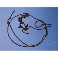 Chaine noire 16 maillons/cm set de 50cm