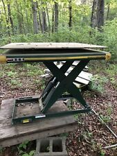 hydraulic scissor lift table 00004000