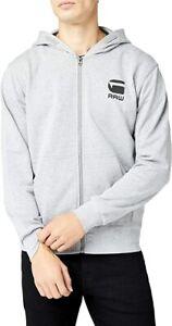 G-STAR Doax Hooded HOODIE RRP £80 Size M Zip Swearshirt Medium