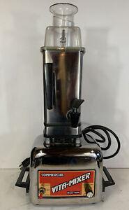 Vitamix Vita Mixer Maxi 4000 Blender Commercial Vintage 850 Watts Model 479044